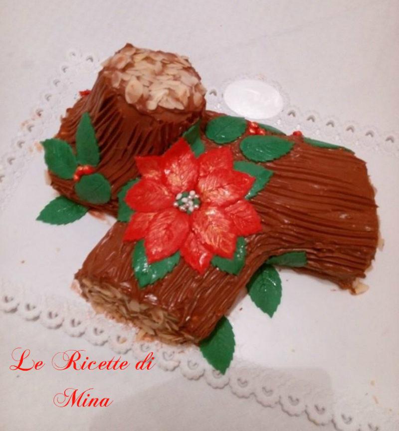Torta Tronchetto Di Natale.Tronchetto Di Natale Le Ricette Di Mina